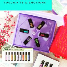 Touch kits and emotional aromatherapy love! Www.joinnicssentials.com