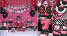 free minnie mouse printables   ... all the photos from Our Minnie Mouse Pink Birthday party! CLICK HERE
