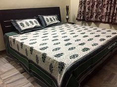 Handcrafted Rajasthani Print 100% Cotton Double Bed Sheet... http://www.amazon.in/dp/B01NCOB4EU/ref=cm_sw_r_pi_dp_x_IXLxyb1EA9ZBZ
