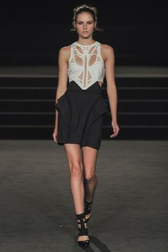 Sass & Bide London Fashion week - F/W 2013-2014