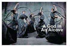 Black Magazine, hair by Lauren McCowan http://au.cloudninehair.com/