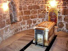 La tomba di San Giorgio a Lod (l'antica Lydda) in Israele