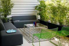 También podemos mejorar la decoración de las terrazas más pequeñas