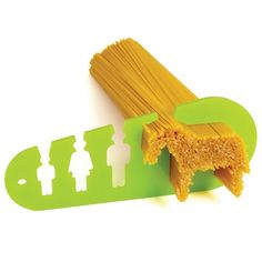 So cute!! Pasta measurer helps estimate how much pasta to make. #kitchen