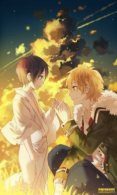 It'll be sad when Yato dies.. even if he just reincarnates.. At least they can still be together :) Yuki and Yato <3