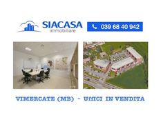 Vimercate (Monza Brianza) Uffici di Prestigio in Vendita - www.siacasagr...