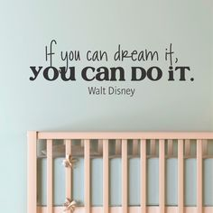 Dream It Do It Whimsical Wall Decal