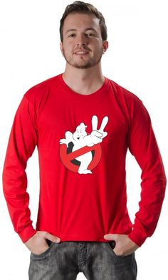 Camiseta Caça Fantasmas 01 - Reis Online Camisetas Personalizadas 248b5de61d63b