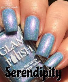 "Glam Polish - Hella Holo Customs - ""Serendipity"" - November 2016"