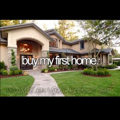 Bucket List- Buy my first home- will this be accomplished in 2013?