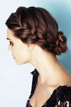 Love this, I did this for my hair but next time I will try braiding it all the way down like this one, very nice