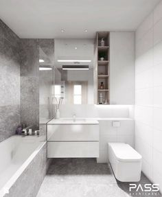 6 Best Bathroom Style Minimalist - Here I will give some picture of the minimalist bathroom that could possibly be an inspira Small Bathroom Layout, Small Bathroom Tiles, Modern Bathroom Design, Simple Bathroom, Bathroom Colors, Bathroom Interior Design, Bathroom Ideas, Small Tiles, Interior Modern