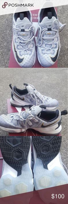 Lebron Soldier 10 TB Lebron James Soldier 10TB mens size 9.5. Only worn twice and only on the basketball court.   Never touched pavement Nike Shoes Athletic Shoes