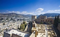 Granada, Spain: guide to visiting the Alhambra  Loved it here it's so peaceful