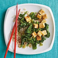 The best way to make tofu is to pan fry it on very hot oil until it is nice and brown. Pouring hot salted water over it and then patting it dry is essential to get crispy delicious tofu. Best Vegetarian Recipes, Tofu Recipes, Asian Recipes, Vegan Vegetarian, Cooking Recipes, Healthy Recipes, Ethnic Recipes, Japanese Recipes, Lunch Recipes