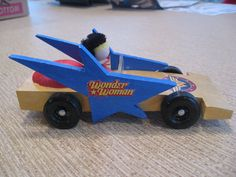 A's Wonder Woman Racer for Awana Grand Prix 2009