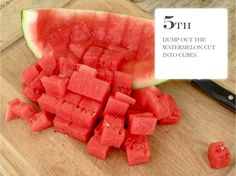 Jenny Steffens Hobick: Watermelon | How to Cut a Watermelon | Tutorial | Summer