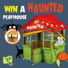 Check out this awesome competition from @tptoys to win a #Playhouse