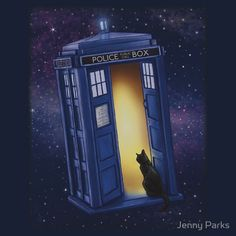 Paws Through Time and Space by Jenny Parks