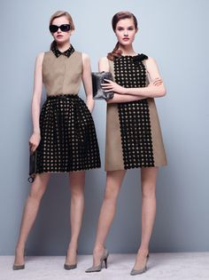 PAULE KA Party Fashion, Girl Fashion, Womens Fashion, 1960s Fashion, Vintage Fashion, Style Année 60, Mode Blog, Linen Shirt Dress, Mode Vintage