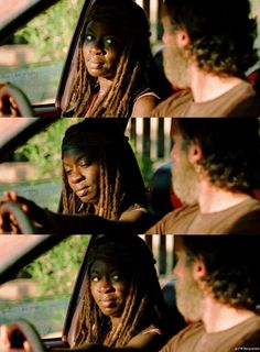 The Walking Dead The Walking Dead 2, Walking Dead Tv Series, Walking Dead Memes, Rick And Michonne, Rick Grimes, Dead Still, Movie Couples, Great Tv Shows, Andrew Lincoln