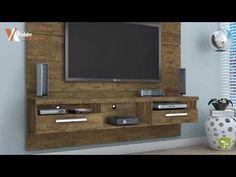 Estante Home Suspensa LED para TV até 60 Polegadas Evidence Vald