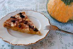 Torta light di zucca e mele