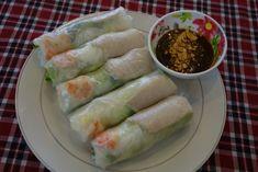 Goi cuon - Fresh spring rolls - authentic Vietnamese recipe from Vietnam