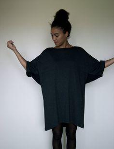 Grey Oversize Wedge Dress. kr499,00, via Etsy.