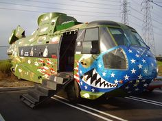 Weird RVs: Bus meets helicopter: Is it an RV?