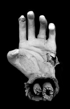 sculptures of hands   Zombie Hand Sculpture on Behance