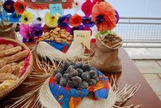 bandeja de chapeu 50 Ideias para decoração de festa junina