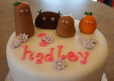 Small Potatoes edible cake toppers