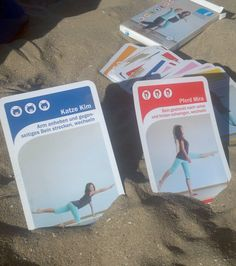 The little bag game - Das kleine Rückenspiel The beach offers an fantastic background for gym exercices thinking at the sound of birds, the sea, feeling the sand, free, etc.