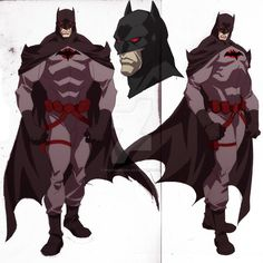 Batman Flashpoint Concept by philbourassa