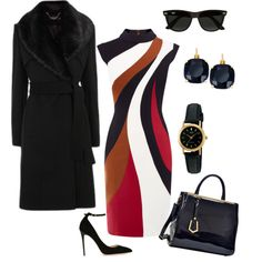 A fashion look from May 2016 featuring Jimmy Choo pumps, Dasein tote bags and Kate Spade earrings. Browse and shop related looks.