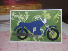 cards made with cricut going places   have a card time creating cards for guys lol