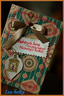 PasjaBelki: kartki świateczne made by Iza-belka:)