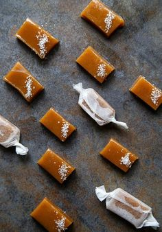 Apple Cider Caramels by dessertfortwo.com