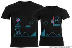 Key To My Heart™ His & Hers Couples Shirts by BoldLoft on Etsy