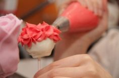 How to make a Rose Cake Pop Valentines Bouquet!!