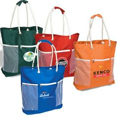 Seaside Rope Handle Promo Jumbo Tote - 21