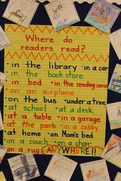 Where Do Readers Read?