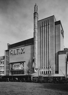 City Theater in 1935, Amsterdam, designed by Jan Wils