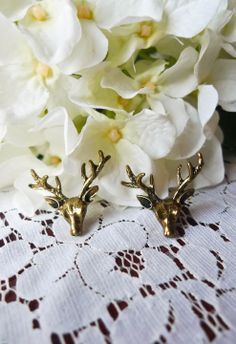 Buck and Forth Earrings - Earrings - Accessory - Retro, Indie and Unique Fashion