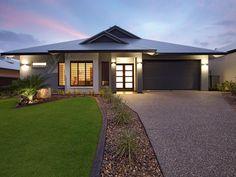 Photo of a tiles house exterior from real Australian home - House Facade photo 147507