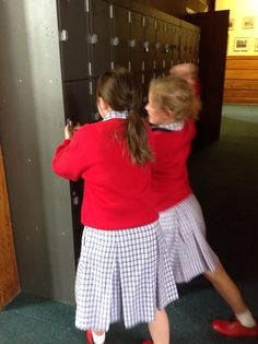 It is bad to hack into other people's lockers because they might have private things inside.