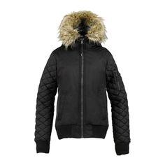 Burton x L.A.M.B. Snowboarding Bomber Jacket True Black