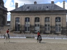 Home of the very first horse race....Chateaux de Chantilly