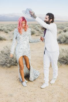 Warning: This post includes excessive amounts of cool - a couple from Australia got married by Elvis
